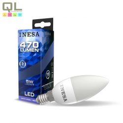 INESA LED E14 gyertya izzó 3000K 5W 160° 60627