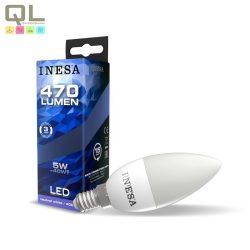 INESA LED E14 gyertya izzó 4000K 5W 160° 60628