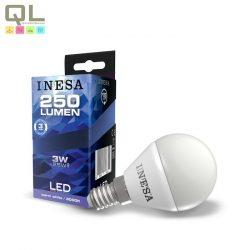 E14 LED Kisgömb 3W 3000K 160° 60630