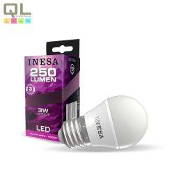 INESA E27 LED Kisgömb 3 4000K 160° 60640