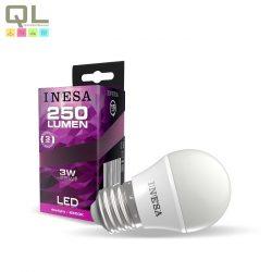 INESA E27 LED Kisgömb 3 6500K 160° 60641