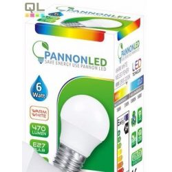 6W kisgömb alakú LED meleg fehér 372853