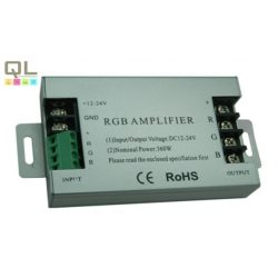 jelerősítő LED szalaghoz 12V-24V 3x10A 12VDC (360W) LLJEL360W