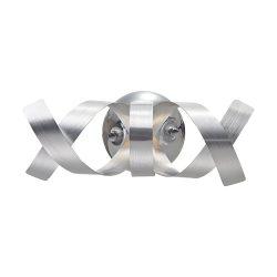 RIBBON fali 1x33W G9, króm/matt aluminium 64345