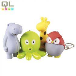 EMOS gyermeklámpa elemlámpa 2LED  állatfigurás, színes P3868