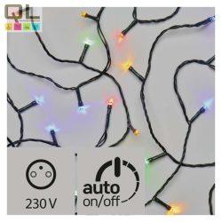 KARÁCSONYI FÉNYFÜZÉR 80 LED 8M RGB időzítővel ZY0812T