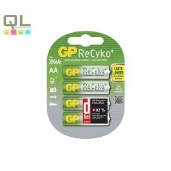 ReCyko+, akár 1500 alkalommal tölthető ceruza elem NiMH 2000mAh AA 210AAHCB-EC2