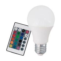 LED E27 RGB színes távirányítóval 10899