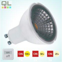 5W LED GU10 izzó 4000K STEPDIMMING 11542