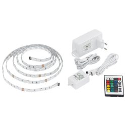 LED STRIPES-FLEX LED szalag szett fehér LED-RGB 13532