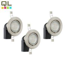 Beépíthető Süllyesztett, beépíthető lámpa nikkel LED 13555