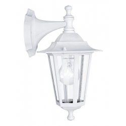 EGLO LATERNA 5 Kültéri fali lámpa fehér E27 22462
