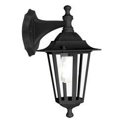 LATERNA 4 Kültéri fali lámpa fekete E27 22467