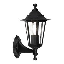 EGLO LATERNA 4 Kültéri fali lámpa fekete E27 22468
