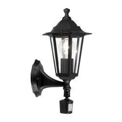 LATERNA 4 Kültéri fali lámpa fekete E27 22469