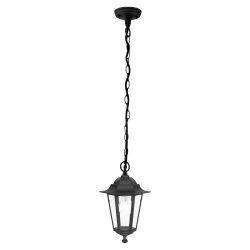 EGLO LATERNA Mennyezeti lámpa fekete E27 22471