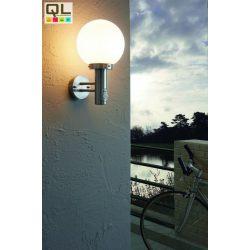 NISIA Kültéri fali lámpa acél E27 27126