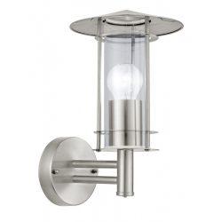 LISIO Kültéri fali lámpa acél E27 30184