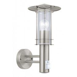 LISIO Kültéri fali lámpa acél E27 30185