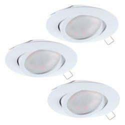 TEDO Süllyesztett, beépíthető lámpa fehér LED 31683