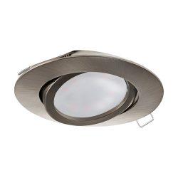 EGLO TEDO Süllyesztett, beépíthető lámpa nikkel LED 31688