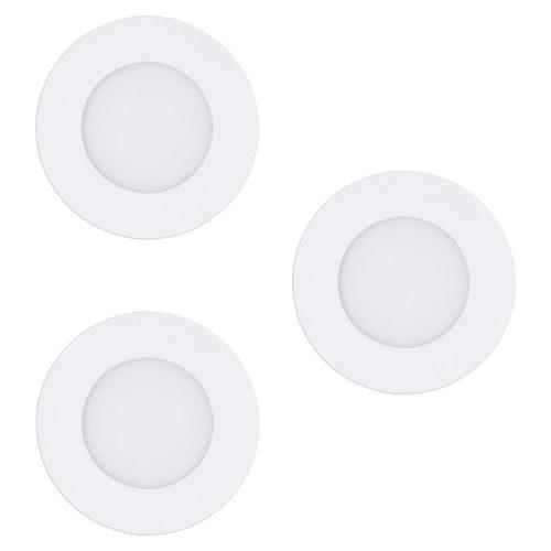 FUEVA-C Süllyesztett, beépíthető lámpa LED-RGBW 3x3W 8,5cm 32881