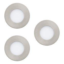 FUEVA-C Süllyesztett, beépíthető lámpa LED-RGBW 3x3W 8,5cm 32882