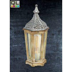 KINGHORN Asztali lámpa ezüst E27 49277