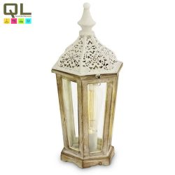 VINTAGE Asztali lámpa fehér E27 49278
