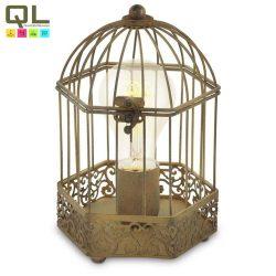 HARLING Asztali lámpa rozsdaszínű E27 49287
