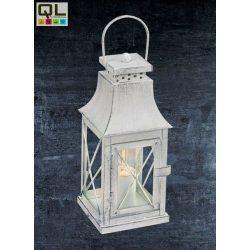 LISBURN Asztali lámpa szürke E27 49294