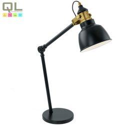 THORNFORD Asztali lámpa fekete E27 49523