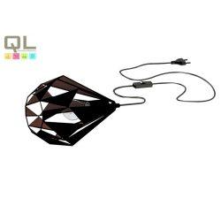 CARLTON 1 Asztali lámpa fekete E27 49993