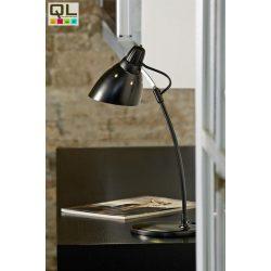 TOP Asztali lámpa fekete E27 7059