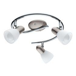 EGLO DAKAR 6 spot lámpa 3X4W E14-LED-KERZE 75299