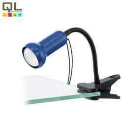 FABIO Csiptetős, satus lámpa kék E14 81261
