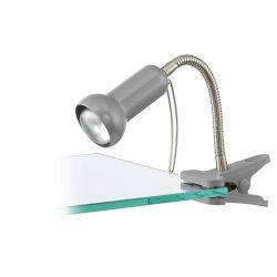 FABIO Csiptetős, satus lámpa ezüst E14 81265