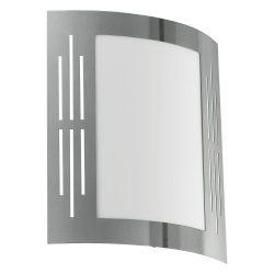 EGLO CITY Kültéri fali lámpa acél E27 82309