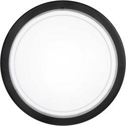 PLANET 1 Mennyezeti lámpa fekete E27 83159
