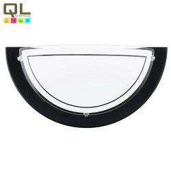 PLANET 1 Fali lámpa fekete E27 83161