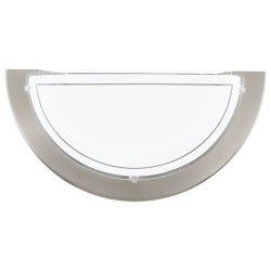 PLANET 1 Fali lámpa nikkel E27 83163