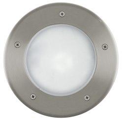 RIGA Kültéri süllyesztett, beépíthető lámpa acél E27 86189