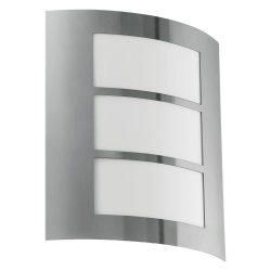 EGLO CITY Kültéri fali lámpa acél E27 88139