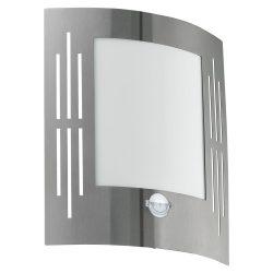 EGLO CITY Kültéri fali lámpa acél E27 88144