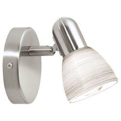 EGLO spot lámpa DAKAR 1 Mennyezeti  nikkel E14 88472