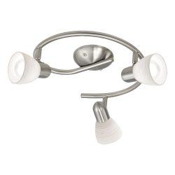 EGLO spot lámpa DAKAR 1 Mennyezeti  nikkel E14 88475