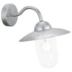 MILTON Kültéri fali lámpa acél E27 88489