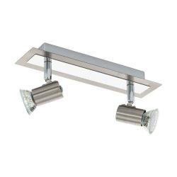 EGLO spot lámpa ROTTELO Mennyezeti  nikkel LED 90915