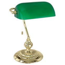 BANKER Asztali lámpa sárgaréz E27 90967