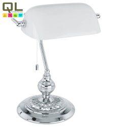 BANKER Asztali lámpa króm E27 90968